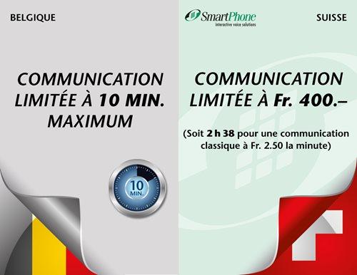 Divergence des temps des communications
